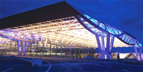 Airport Features Suvarnabhumi Airport New Bangkok Airport Thailand